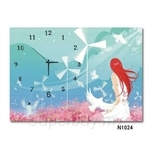 hOurHome Modern Art Paintings & Clock N1024