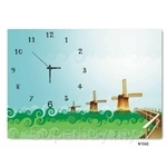 hOurHome Modern Art Paintings & Clock N1042