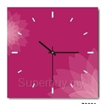 hOurHome Modern Art Paintings & Clock -Square, 1-piece set- Z0001