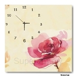hOurHome Modern Art Paintings & Clock -Square, 1-piece set- Z0026