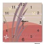 hOurHome Modern Art Paintings & Clock -Square, 1-piece set- Z0033