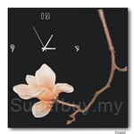 hOurHome Modern Art Paintings & Clock -Square, 1-piece set- Z0400