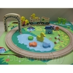 ClassicWorld Duck Train Set