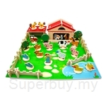 Top Bright Wooden Toy: Happy Farm (Extra Large)