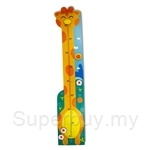 Top Bright Wooden Toy: Giraffe Height Measurement Ruller