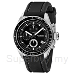 Fossil Men's Decker Silicone Chronograph Black Dial Watch # CH2573