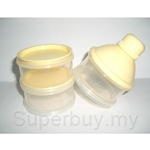 Simple Dimple United Safety 3 Tier Milk Powder Container - FMC06