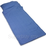 Lifeventure Cotton Travel Sleepers Rectangle(210cm x 80cm) - 9821