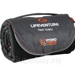 Lifeventure Hydrofibre Towel L Grey - LVE-63110