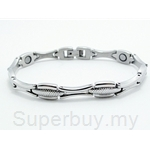 316 Stainless Steel Bio-Magnetic Bracelet For Ladies SSW 8177