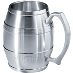 Tumasek Pewter Barrel Mug - 2106