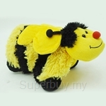 My Pillo Pet Mini Sleepy Pet- Bumble Bee