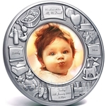Tumasek Pewter Baby Photo Frame - 2865