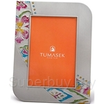 Tumasek Pewter 4R Photo Frame Batik with Colour - 2862CL