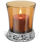 Tumasek Pewter Tealight Candle Grape - 2378