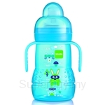 MAM Baby Bottle Trainer+ 220ml (Spill-Free Spout) - B220