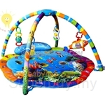 Lidida Multifunction baby Playmat Gym Mat(Musical and Lighting and Sensor)