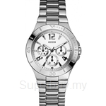 Guess W11125L1 Ladies Dress Steel Series Watch