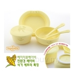 Vegetable Baby Tableware 6pcs Set