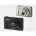 Canon 12.1 MP f-2.0 Lens Point and Shoot Digital Camera - S100