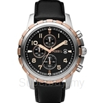 Fossil Men's Chronograph Black Dial Watch - FS4545