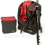 Manfrotto M-Y Start Up Alu Tripod Kit with Fixed 482 Ball Head + Backpack - 732YB-482K