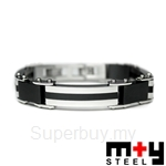 X'mas Best Buy M+Y STEEL  Uomo I - Men Bracelet (FREE gift wrapping!)