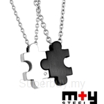 M+Y STEEL Together Couples Pendant - 103-69