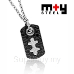 M+Y STEEL Untame Love Couples Pendant - 103-397