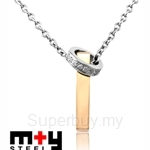 M+Y STEEL Always Couples Pendant For Her - 103-413