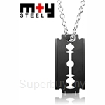 M+Y STEEL Razor Men Pendant - 103-436