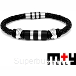 M+Y STEEL Tribal Men Bracelet - 101-388