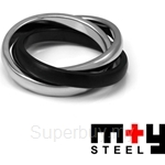 M+Y STEEL Together Ring Men - 105-216