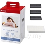 Canon Selphy Printer Paper 4R 3-in-1 KP-108IN - 3115B001AA