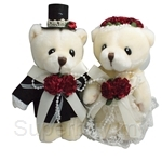 Lacey Wedding Bear (S)