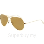 Ray-Ban Aviator 3K Sunglasses - RB3025-001-58