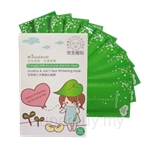 KilaDoll Licorice and Job's Tear Whitening Face Mask - For Sensitive Skin