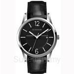Cross Gotham Series Black Dial and Black Strap Watch - CR8002-01