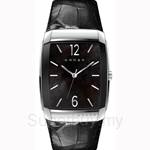 Cross Arial Series Black MOP Dial and Black Strap Watch - CR9005-01