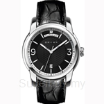 Cross Palatino Series Black Dial and Black Strap Watch - CR8007-01