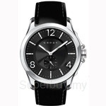 Cross Helvetica Series Black Dial and Black Strap Watch - CR8009-01