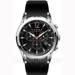 Cross Agency Series Black Dial and Black Silicon Strap Watch - CR8011-01