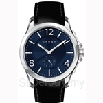 Cross Helvetica Series Blue Dial and Black Strap Watch - CR8009-03