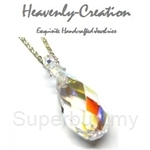 Heavenly Creation Pendant Teardrop Crystal AB - 221PS-2