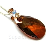 Heavenly Creation Pendant Flat Teardrop Copper - 222P-2