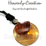 Heavenly Creation Pendant Double Twist Golden Shadow and Copper - 225PC
