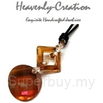 Heavenly Creation Pendant Twist and Square - 227PC