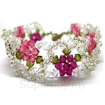 Heavenly Creation Bracelet Garden of Flower - 071B-2