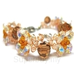 Heavenly Creation Bracelet 4 Petals - 075B