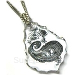 Heavenly Creation Pendant Baroque Drop Crystal - 263P
